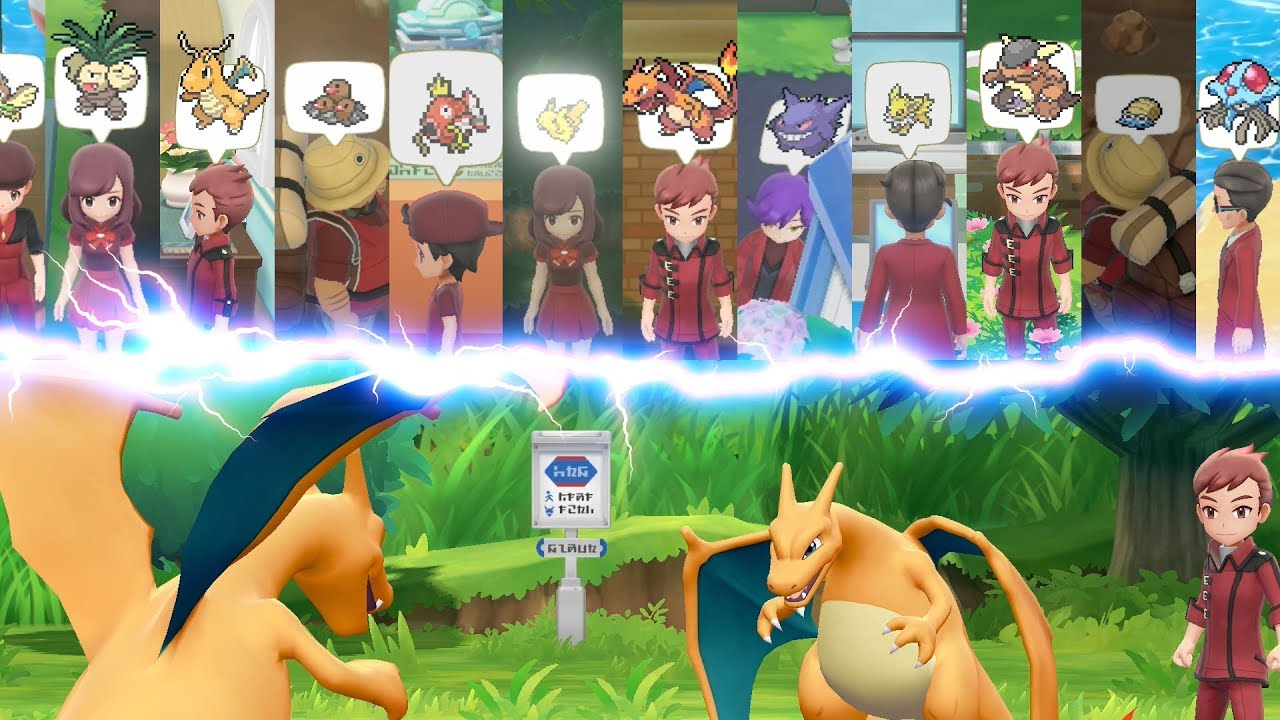 Image result for Pokemon: Let's Go