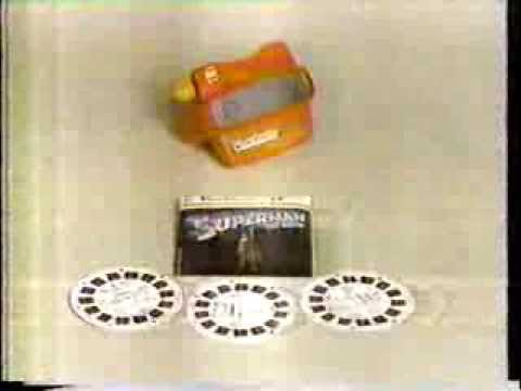 Superman 1978 Viewmaster Viewer Commercial