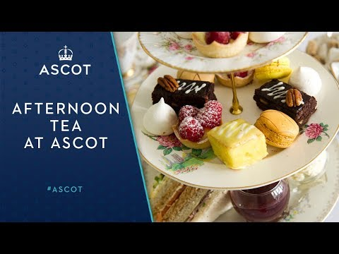 Afternoon Tea at Ascot Racecourse