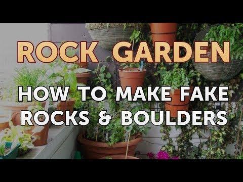 Merveilleux How To Make Fake Rocks U0026 Boulders