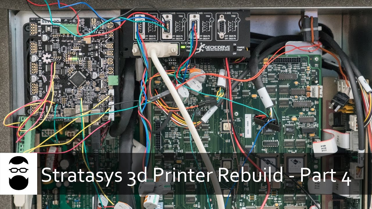 Stratasys 3D Printer Rebuild - Part 4: Smoothieboard, Homing, Chamber  Heaters