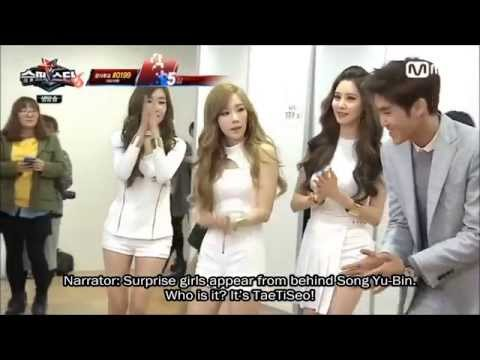 [ENG SUB] 141031 TaeTiSeo (SNSD) on Superstar K6