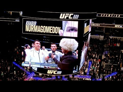 UFC 223 New York Food VLOG. Khabib vs Iaquinta FIght and Food NYC. #1  Khabib Fans #KHABIBTIME