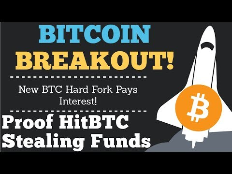 Crypto News | Bitcion Breaks Out, But Is It Short Lived!? Proof HitBTC Stealing Your Funds