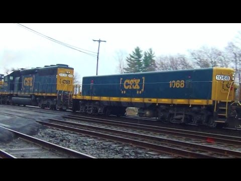 GP9 Slug Engine on CSX Freight Train