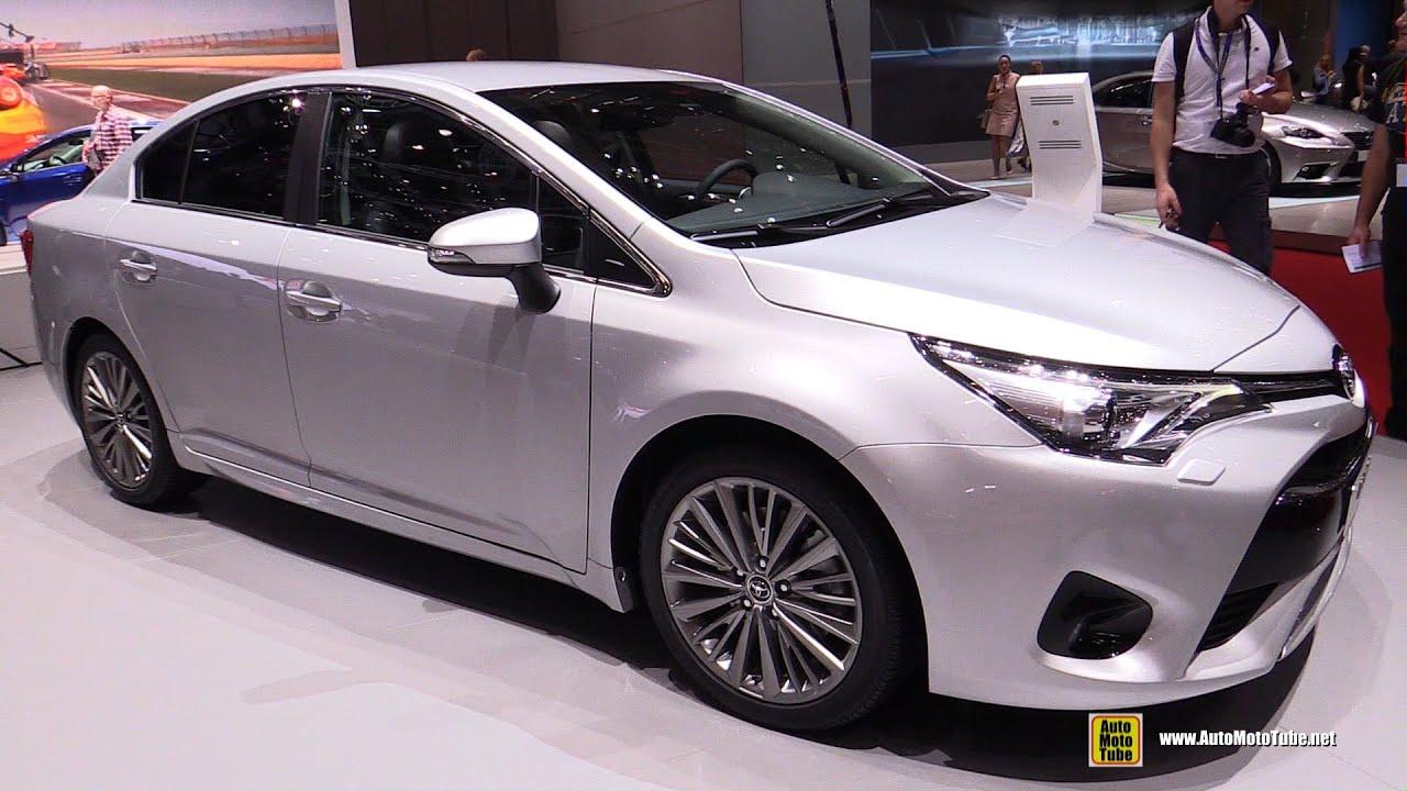 toyota new car release 20152016 Toyota Avensis Diesel  Exterior and Interior Walkaround