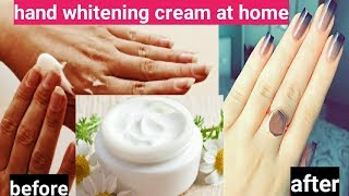 "💖Hand whitening cream at home for soft & fair hand permanently💖""Vandana beauty and health tips"""