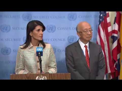 Non-proliferation and DPR of Korea - Nikki R. Haley, Koro Bessho and Cho Tae-yul