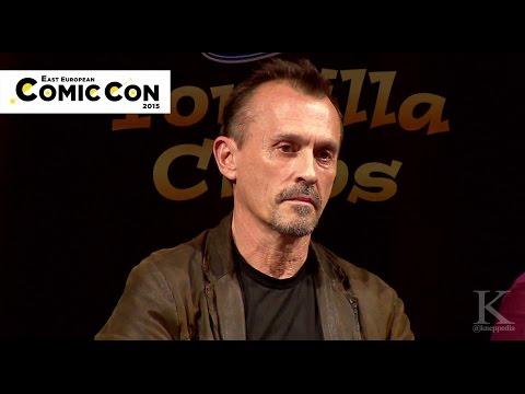 Robert Knepper - East European Comic Con 2015 - Q&A Panel