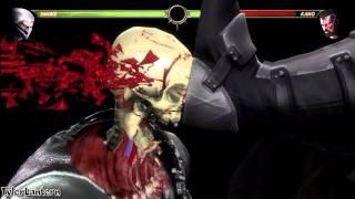 MK9 - Smoke 72% Wall X-RAY Combo - Mortal Kombat 9 (2011)