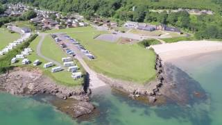 'The View' Luxury Lodges in St. David's Park, Anglesey.