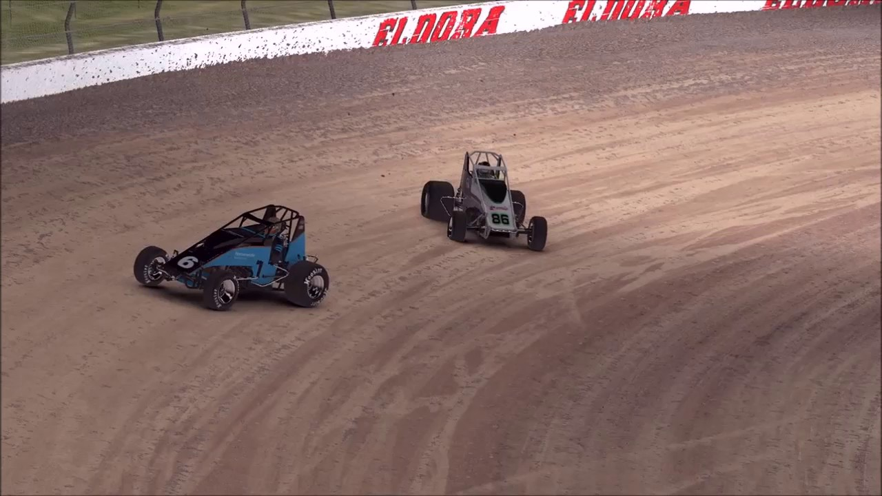 Iracing Dirt One Week Later Review Wingless Sprint Car Youtube