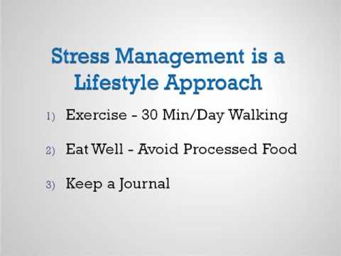 How You Can Manage Your Stress Levels