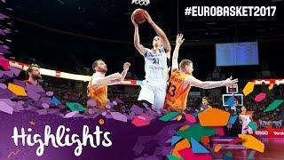 Germany v Netherlands - Highlights - FIBA EuroBasket 2017 Qualifiers