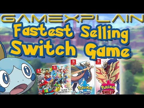 Pokémon Sword & Shield Are The Fastest Selling Switch Games Ever - 6,000,000 Sold