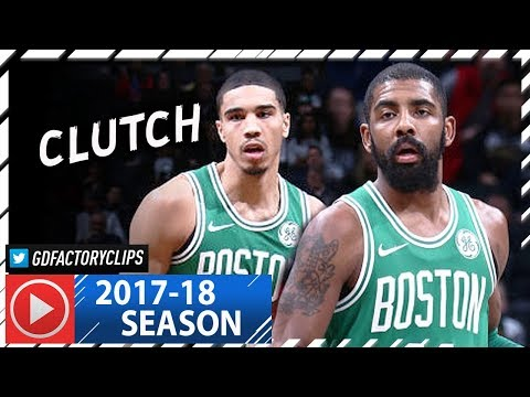 Kyrie Irving 21 Pts & Jayson Tatum 14 Pts Full Highlights vs Nets (2018.01.06) - Tatum CLUTCH Plays!