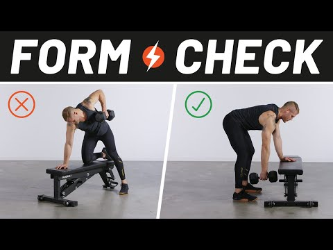 How to Perfect Your Dumbbell Row | Form Check | Men's Health