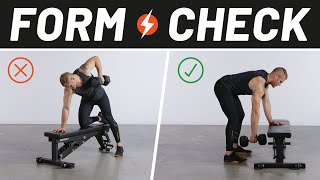 How to Perfect Your Dumbbell Row   Form Check   Men's Health