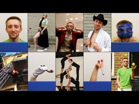 Adam Wittek in CIRQUE DU SOLEIL's PHYSICAL ACTOR & PUPPETEER CASTING (circus, audition video)