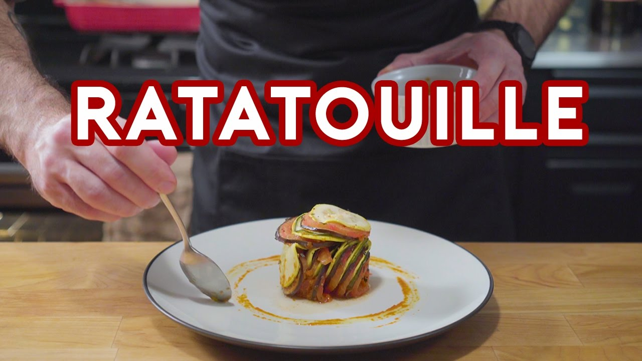 Binging With Babish Ratatouille Confit Byaldi From Ratatouille Youtube