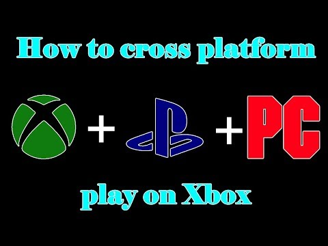 How To Cross Platform Play With Xbox! (FIX) (Fortnite Battle Royale)