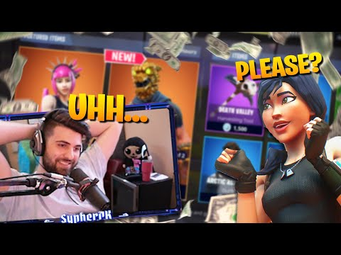 Kid Wanted Me To Buy Him EVERYTHING in The Shop... (Fortnite Battle Royale)