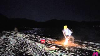 ワンピースサンジ【必殺技】足に火が付いているように見えるけどCGです。 thumbnail