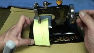 古董手搖縫紉機
