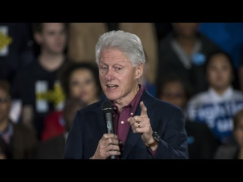 Bill Clinton Slams Donald Trump's Wall Proposal