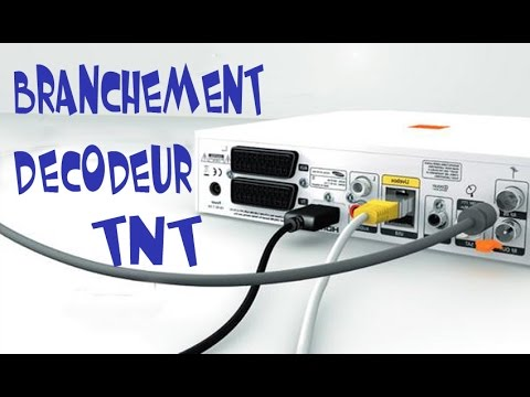 Branchement decodeur tnt youtube - Tv chambre sans prise antenne ...