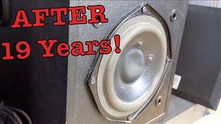 Subwoofer Bass Test! Creative 4.1 ( AFTER 19 YEARS) !! Sound System- تجربة سبوفر