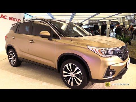 2015 GAC GS4 China SUV - Exterior and Interior Walkaround - 2015 Detroit Auto Show