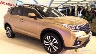 2015 GAC GS4 China SUV - Exterior and Interior Walkaround - 2015 Detroit Auto Show