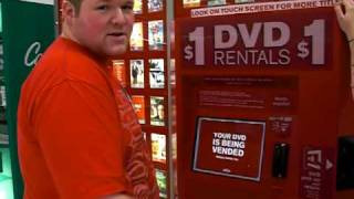 RedBox DVD Rental Vending Machine