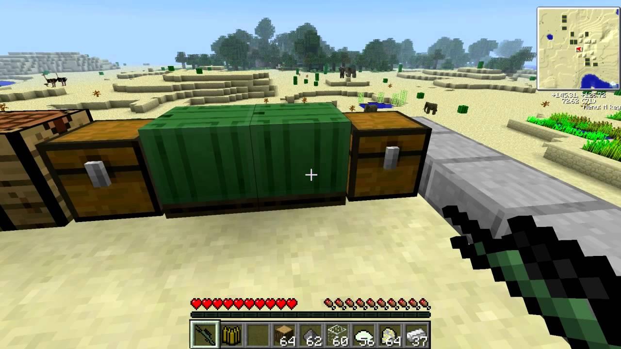 Minecraft Planes Mod Рецепты