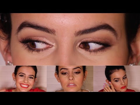 Valentine's Day Makeup Tutorial - Two Looks! Soft/Romantic + Red Lip