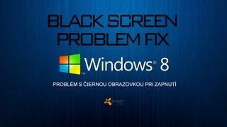 Čierna obrazovka pri štarte Windows