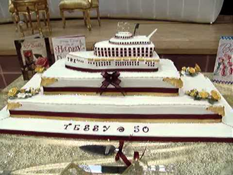 Cruise Ship Cake YouTube - Cruise ship cake