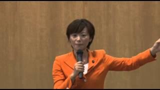 うえまつ恵美子対話集会「50地域」2013年6月23日in牟礼町