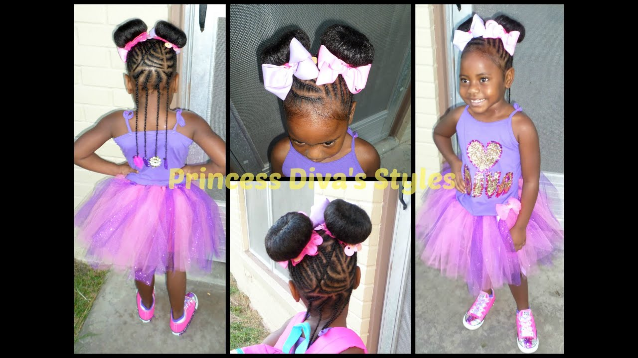 Divas First Day Of Kindergarten Hair And Outfit