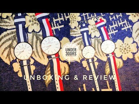 Daniel Wellington Classic Watch | Unboxing & Review | Under 300rs 🔥