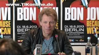 Jon Bon Jovi über Sex, Drugs, Rock'n'Roll (TIKonline)