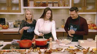 Kelly and Her Daughter Lola Make Cauliflower Gratin