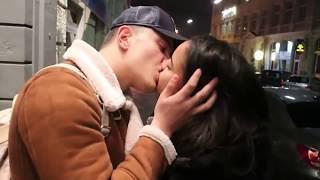 BEST OF KISSING PRANKS IN EUROPE ÖPÜŞME CEZALI OYUN EN İYİLER