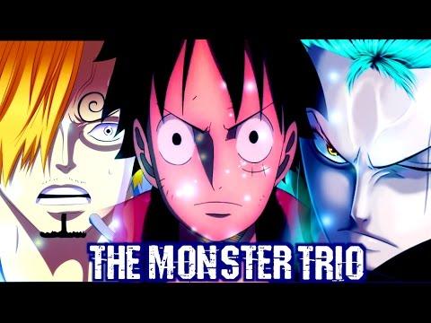 One Piece Amv The Monster Trio Tribute Sanji Luffy Zoro Hd 1080p Youtube