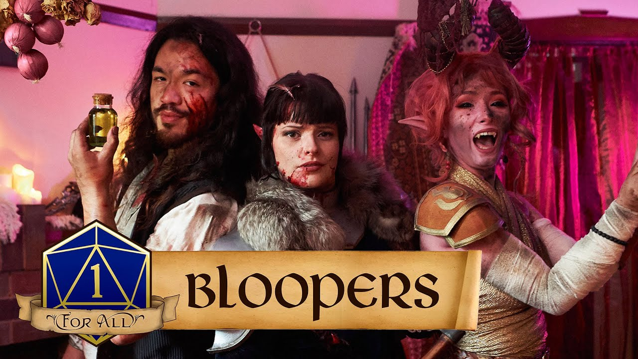 """Shopping Episode"" Bloopers 