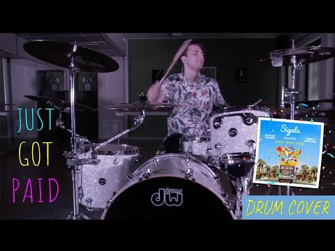 OLIVER  |  Sigala, Ella Eyre, Meghan Trainor, French Montana  |  Just Got Paid  |  DRUM COVER