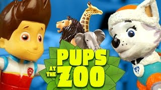 Paw Patrol Toys - Pups Save the Zoo with Paw Patrol Toys - Paw Patrol Video Parody by KidCity