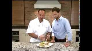 Alton's Pan-seared Scallops With Beurre Blanc Sauce
