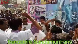 Nannaku Prematho Celebrations in Bangalore At Urvashi Theater | Jr NTR | Bangalore Nandamuri Fans